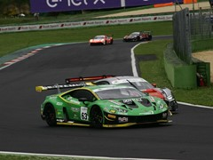 Lamborghini takes victory and points lead in Italian GT Championship Sprint at Vallelunga