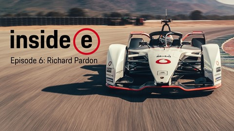 Richard Pardon talks about his work on and off the circuit